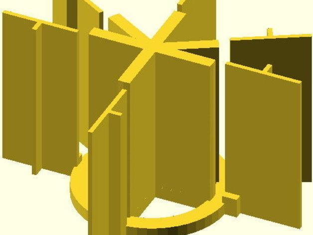 火箭筒夹具 3D模型  图2