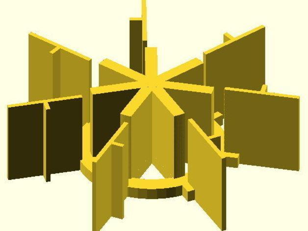 火箭筒夹具 3D模型  图3