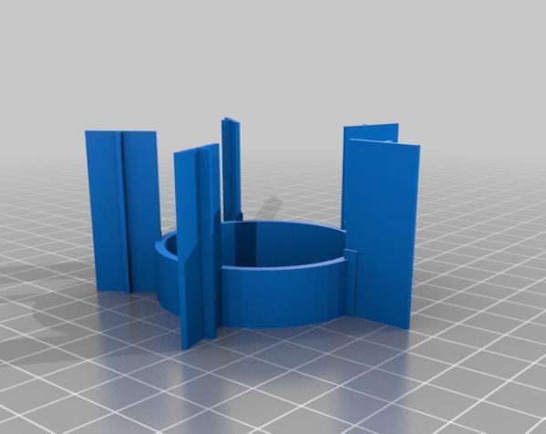 火箭筒夹具 3D模型  图8