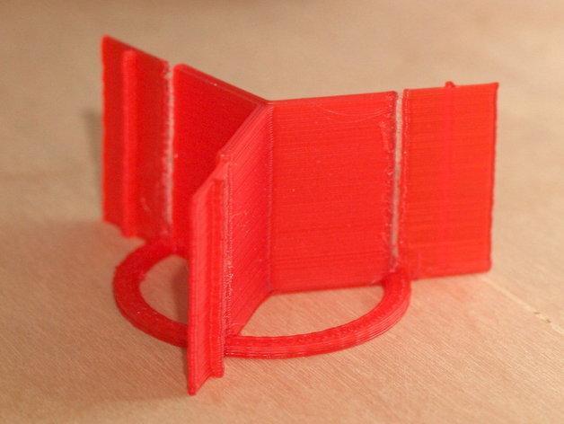 火箭筒夹具 3D模型  图4