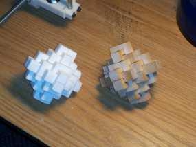 鲁班锁 3D模型