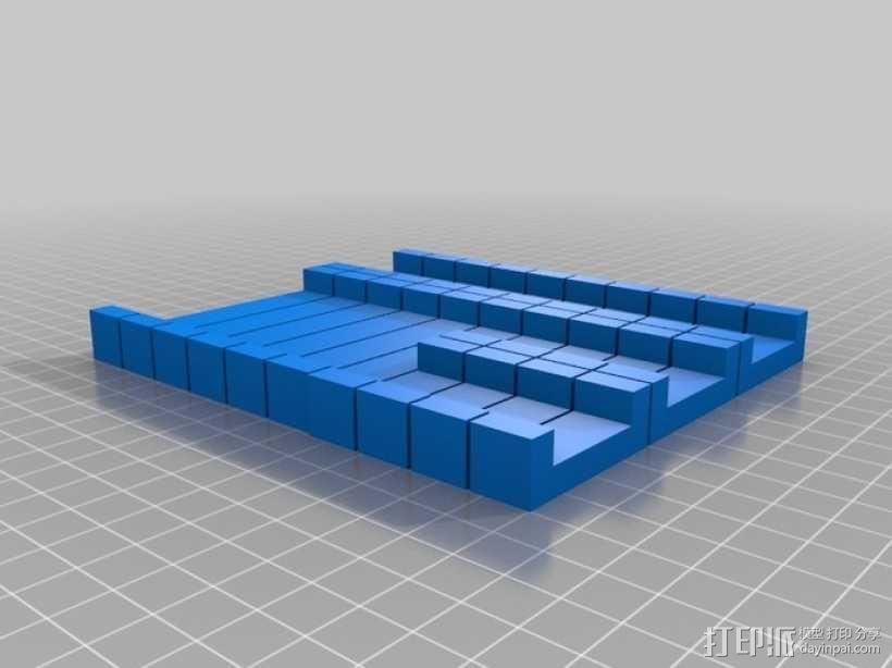 鲁班锁 3D模型  图5