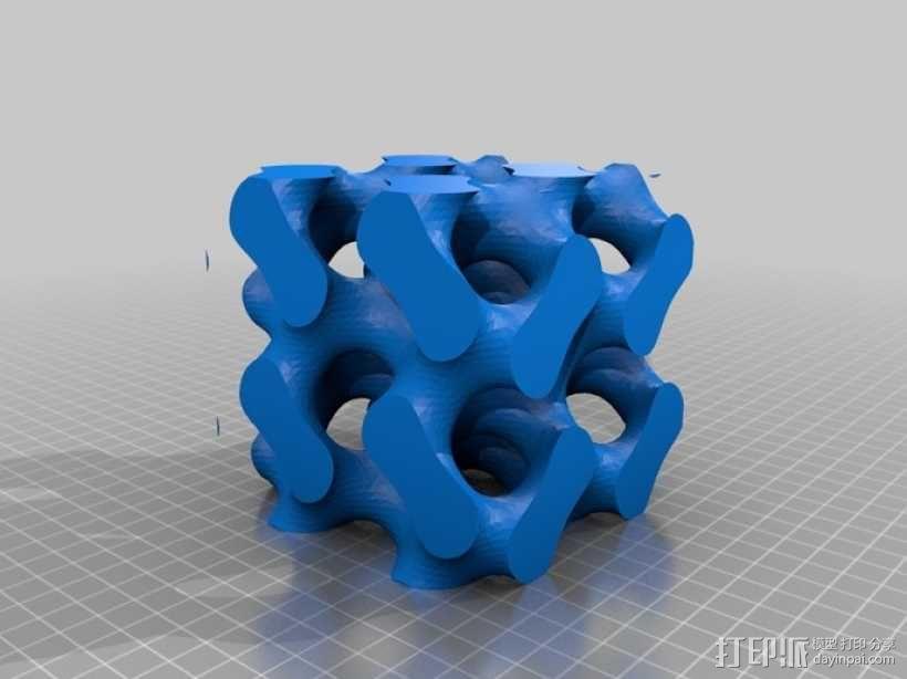 螺旋二十四面体拼图 3D模型  图10