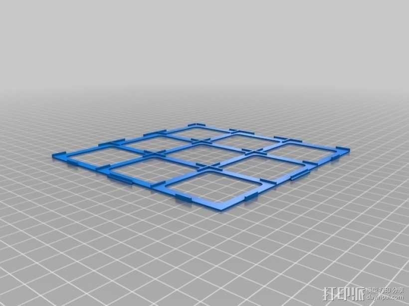 游戏《Carcassonne》模型 3D模型  图1
