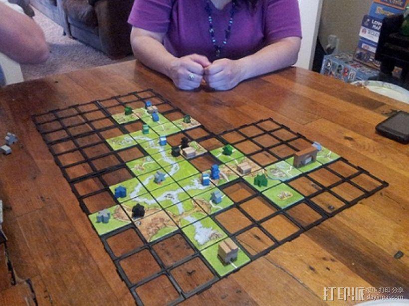 游戏《Carcassonne》模型 3D模型  图2