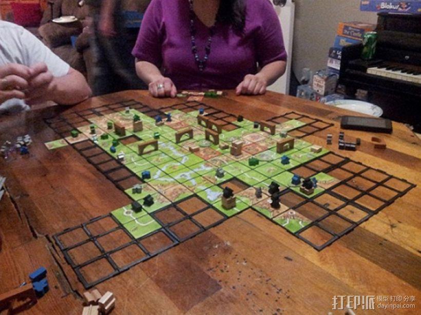 游戏《Carcassonne》模型 3D模型  图3