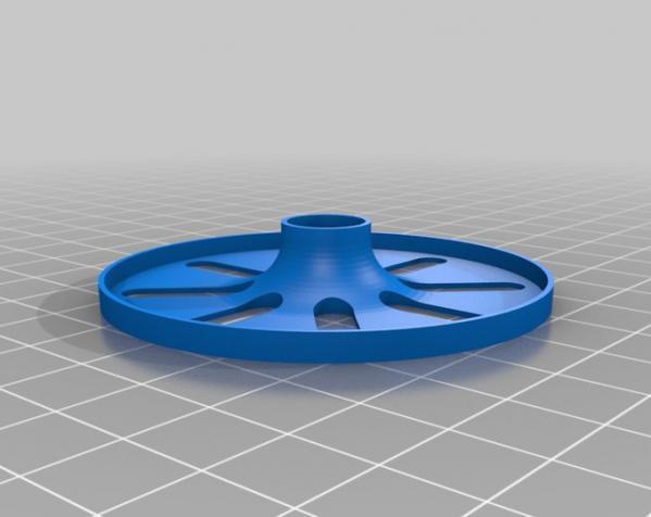 溜溜球轴承环 3D模型  图1