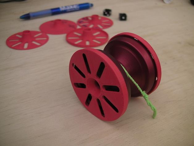 溜溜球轴承环 3D模型  图2
