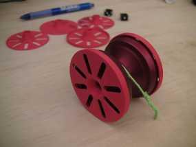 溜溜球轴承环 3D模型