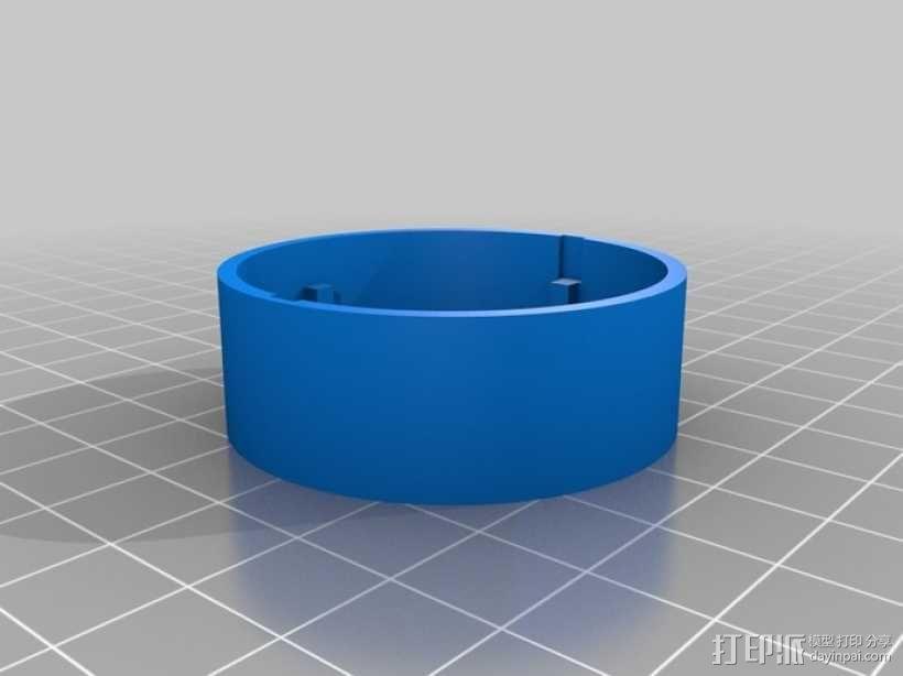 魔术硬币穿孔装置 3D模型  图3