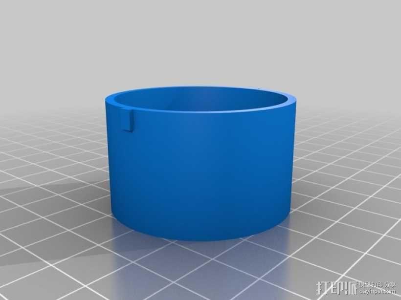 魔术硬币穿孔装置 3D模型  图4