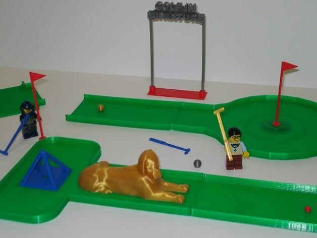 迷你高尔夫球场 3D模型  图6