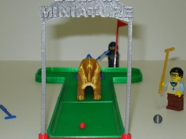 迷你高尔夫球场 3D模型  图7