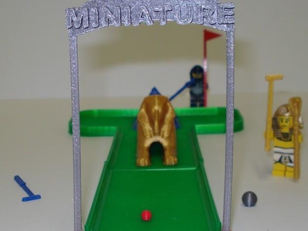 迷你高尔夫球场 3D模型  图9