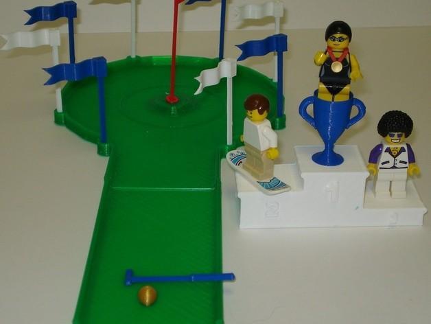 迷你高尔夫球场 3D模型  图12