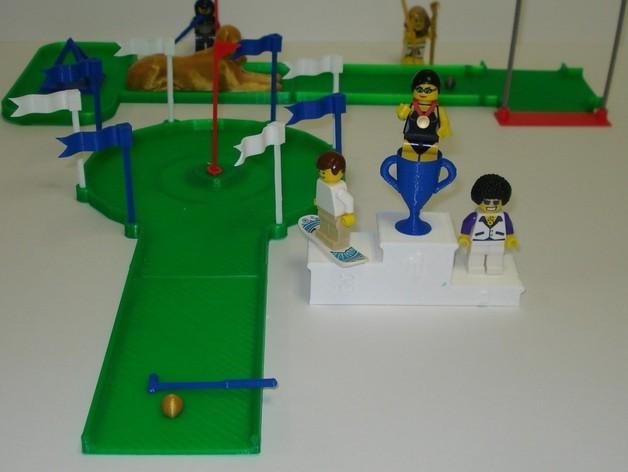 迷你高尔夫球场 3D模型  图13