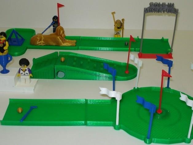 迷你高尔夫球场 3D模型  图16