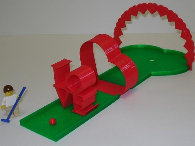 迷你高尔夫球场 3D模型  图18