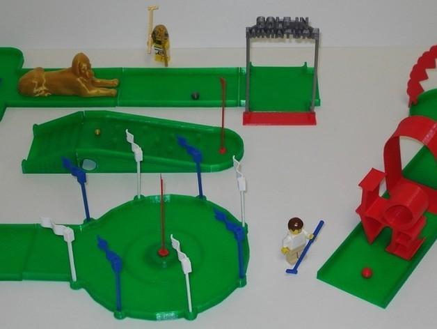 迷你高尔夫球场 3D模型  图20