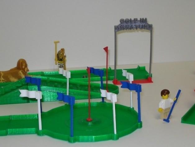 迷你高尔夫球场 3D模型  图19