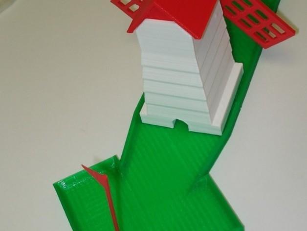 迷你高尔夫球场 3D模型  图29