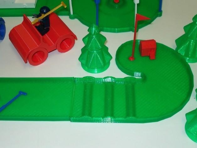 迷你高尔夫球场 3D模型  图27