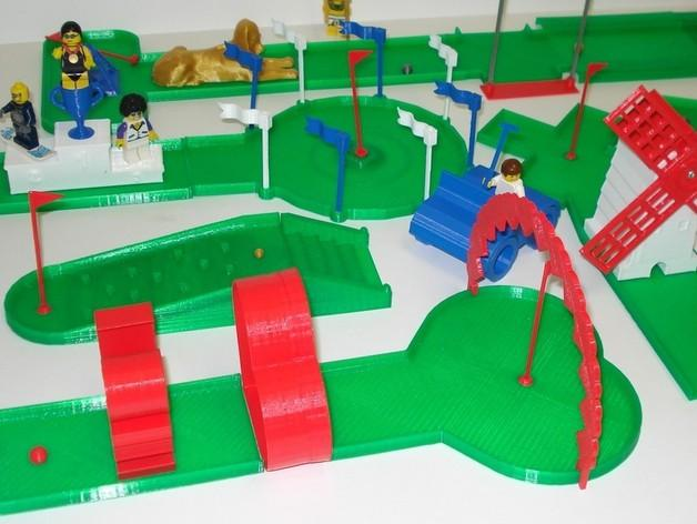 迷你高尔夫球场 3D模型  图32