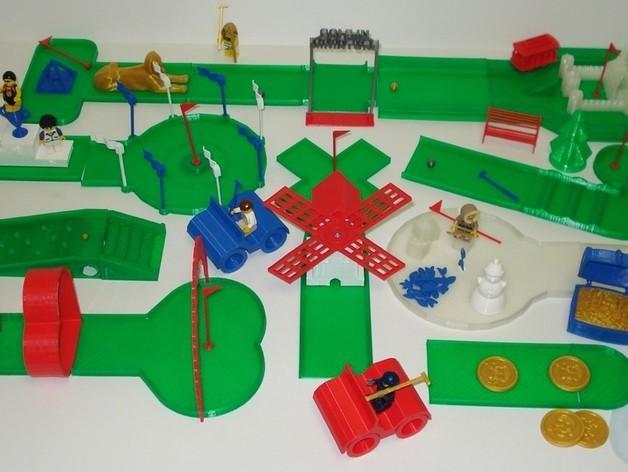迷你高尔夫球场 3D模型  图31