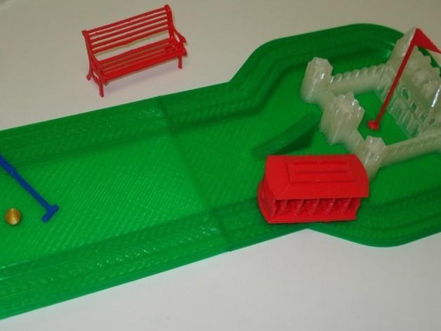 迷你高尔夫球场 3D模型  图30
