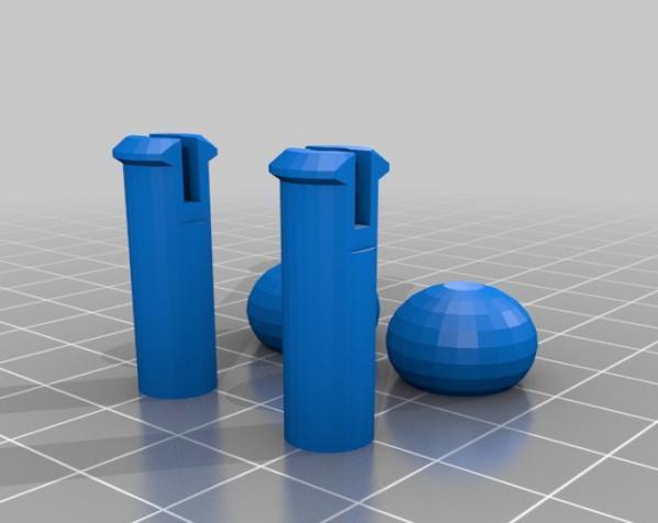 滚动蜗牛玩具 3D模型  图9