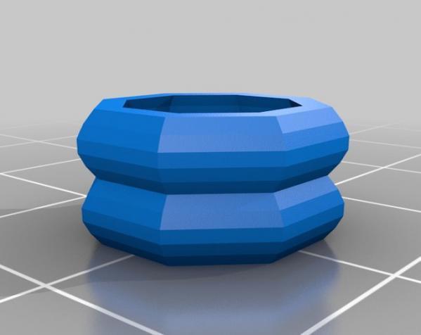 鸠尾榫立方体 3D模型  图3