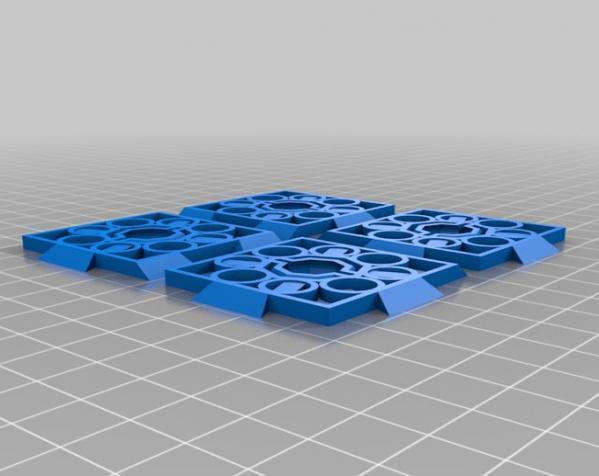 鸠尾榫立方体 3D模型  图4