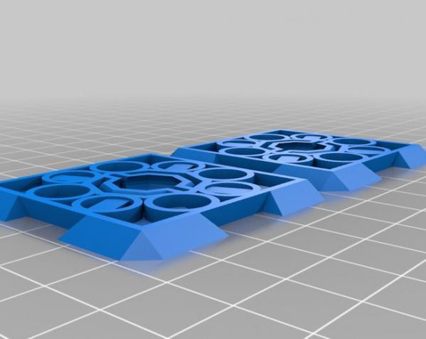 鸠尾榫立方体 3D模型  图2