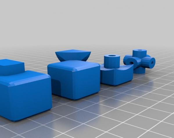 Rubik立方体 3D模型  图1