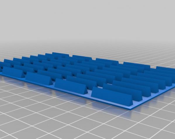机车托盘 3D模型  图1