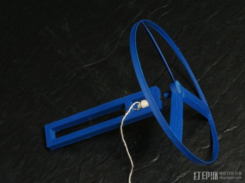 旋转飞行器 3D模型  图1