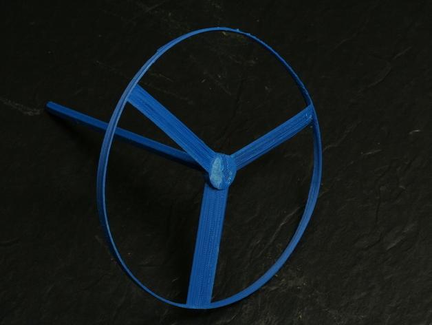 旋转飞行器 3D模型  图3
