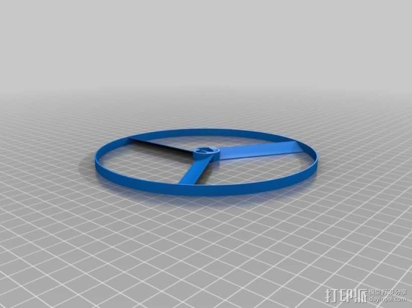 旋转飞行器 3D模型  图10