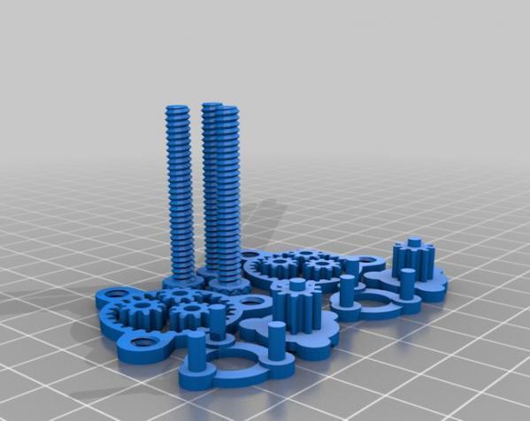 行星齿轮装置 3D模型  图7