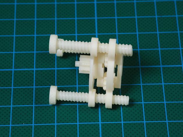 行星齿轮装置 3D模型  图16