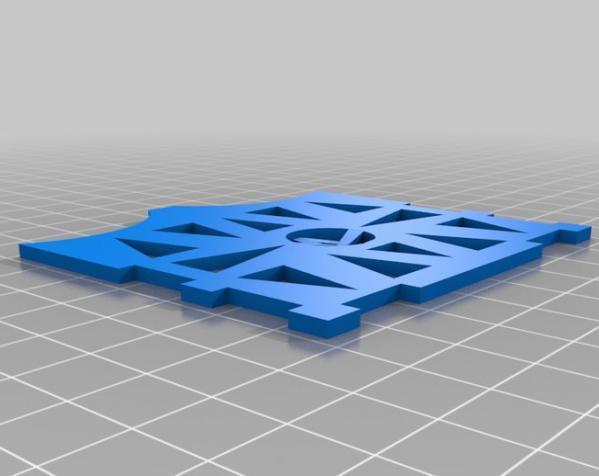 甲板箱 3D模型  图3