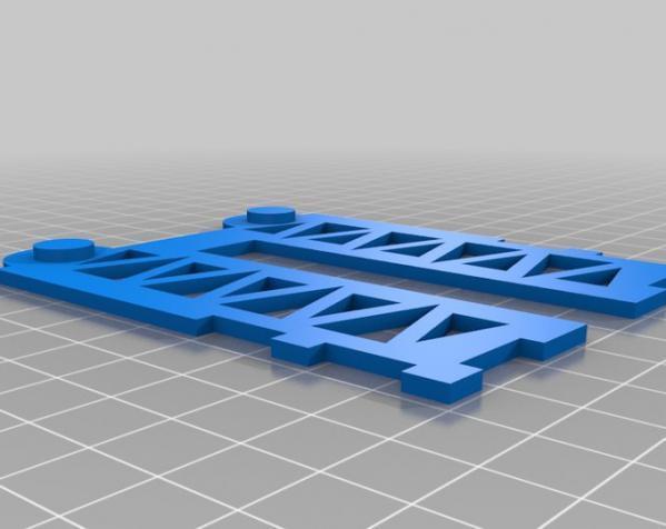 甲板箱 3D模型  图2