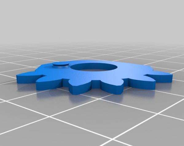 甲板箱 3D模型  图1