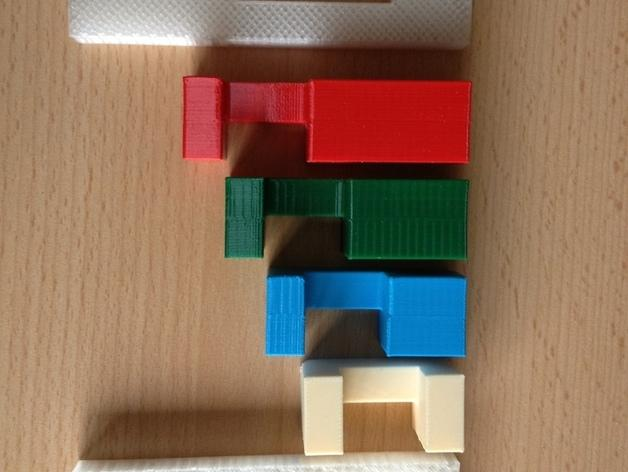 魔笛拼图 3D模型  图2