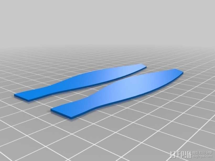 竹蜻蜓 3D模型  图2