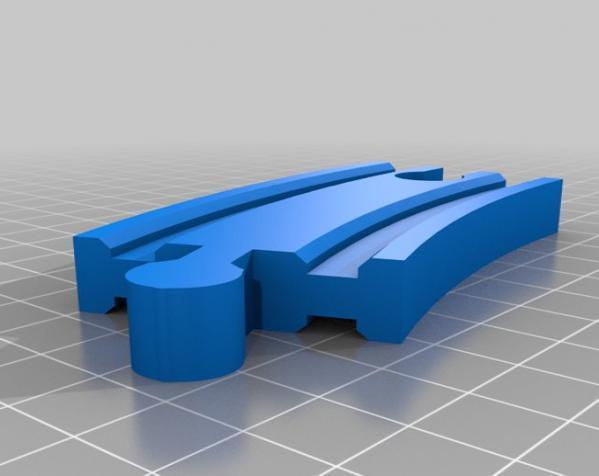 Brio火车轨道 3D模型  图3