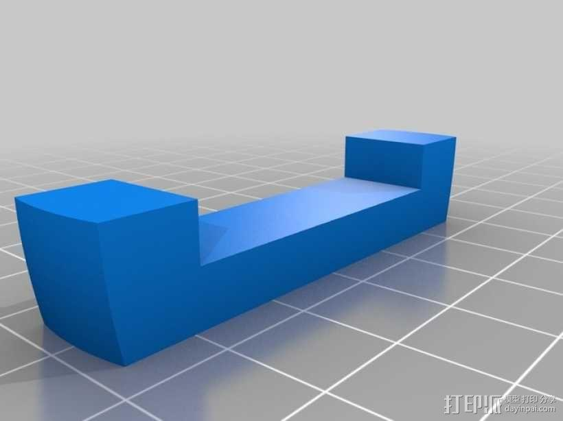 木桶拼图 3D模型  图3
