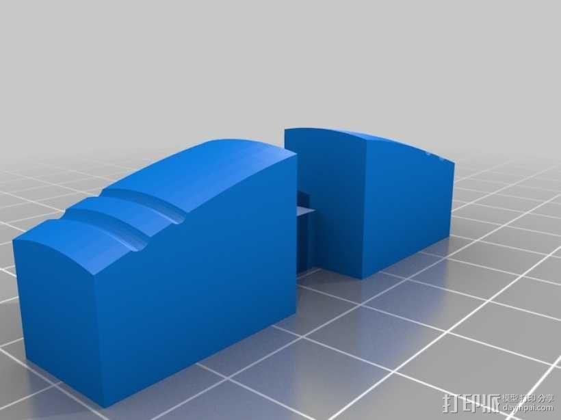 木桶拼图 3D模型  图5
