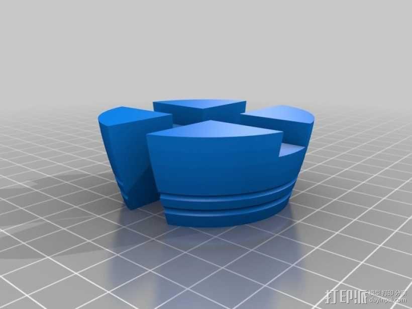 木桶拼图 3D模型  图9