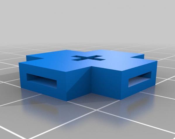 简易连接器 3D模型  图1